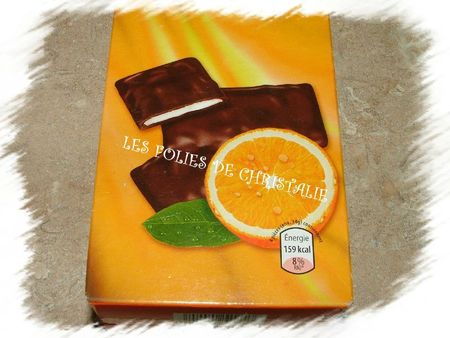 Crème chocolat orange 1