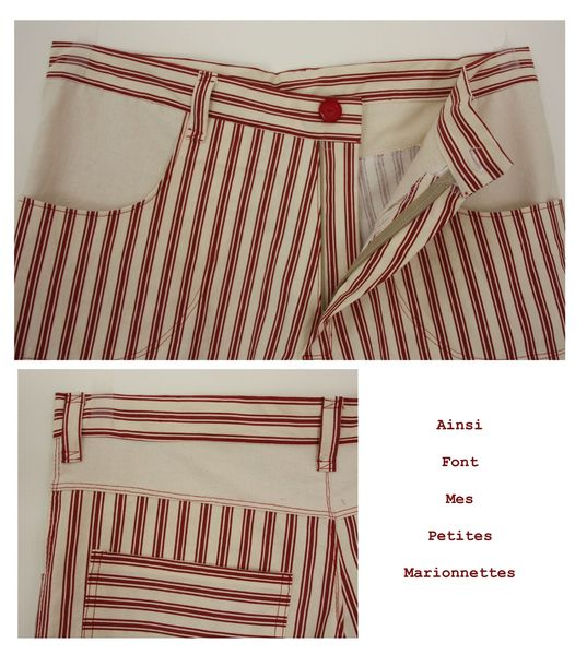 short rouge charly 5