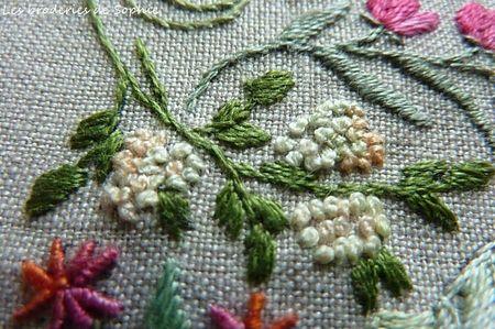 Broderie Mille et une fleurs Canevas Folies (4)