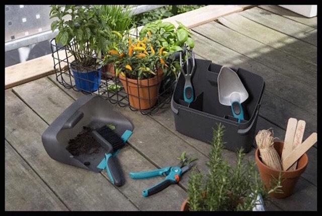 gardena kit outils balcon petit espace