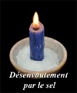 rituel de désenvoûtement par le sel