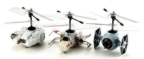 3 star wars rc