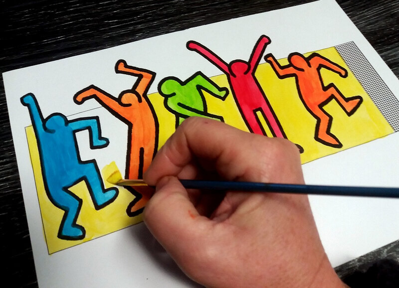 343-Couronnes-Couronne Keith Haring (8)