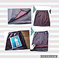 Ma jupe artesane en neoprène