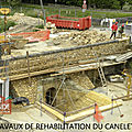TRAVAUX DE REHABILITATION DU CANELET