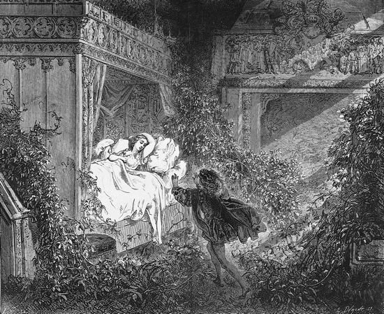 La belle au bois dormant Gustave_Doré 7