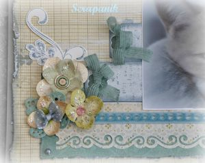 page scrapbookink
