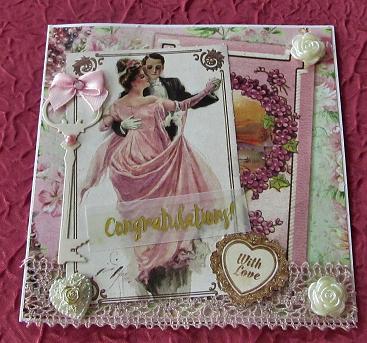 carte Noces d'or Anita G