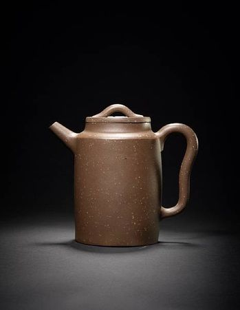 A_rare_Yixing_teapot_and_cover__by_Yang_Pengnian1