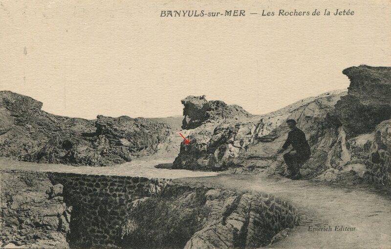 270 Les Rochers de la Jetée''