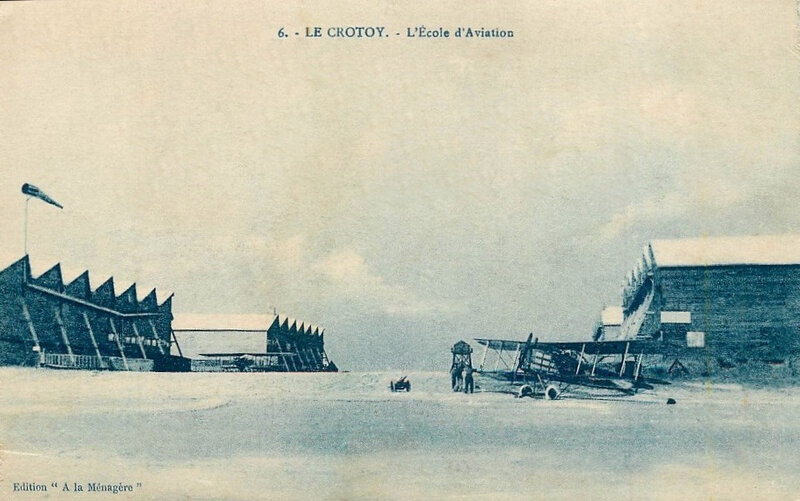 Le Crotoy, école d'aviation