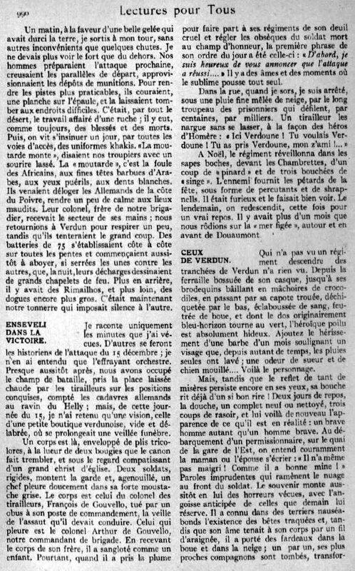 Dans la gloire et l horreur de Douaumont7