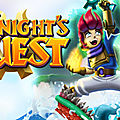 Test de a knight's quest - jeu video giga france