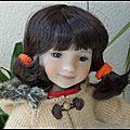 Ksenia en duffle -coat
