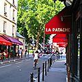 rue, café La patache (Paris 10e)