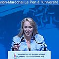 Marion maréchal-le pen s'interroge sur la mise en place d'une véritable diplomatie culturelle