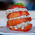 Tomate borsalino à la sardine