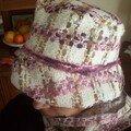 Ensemble chapeau + écharpe