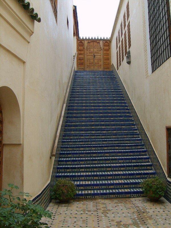 Entree Riad Fes