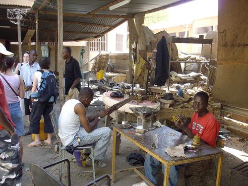 Centre artisanal de Ouaga