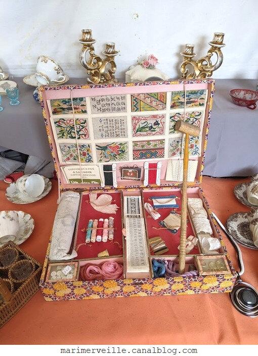 La boîte à couture - jeu ancien- blog marimerveille