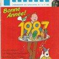 Bonne année 1987 !