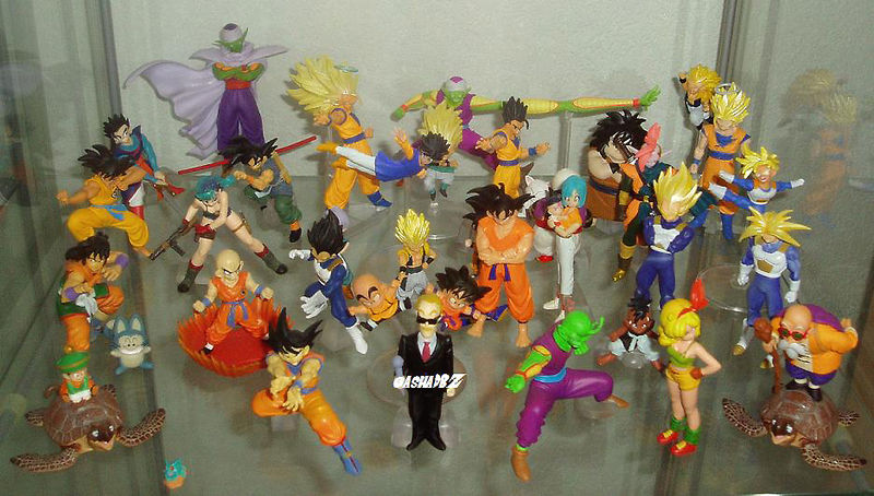 collection oha 2 gashapondbzcollection gashapon dbz hg