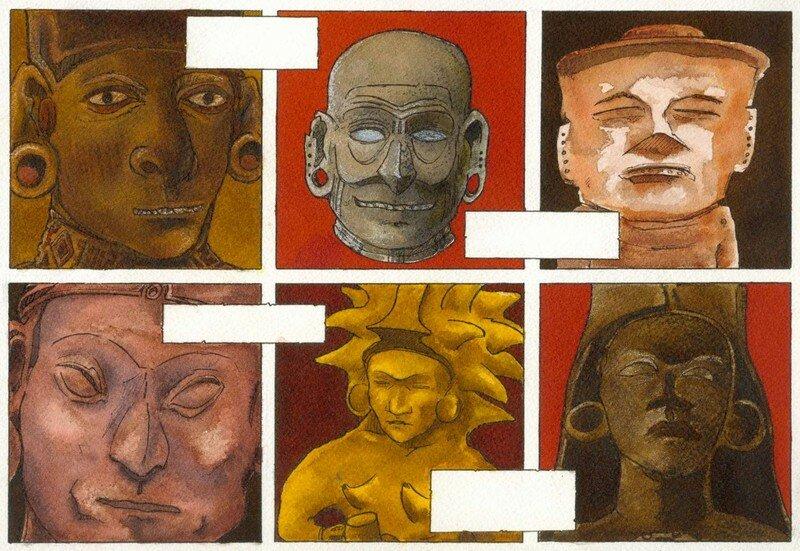 Statuettes amérindiennes