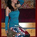 robe mitaines turquoise4