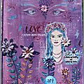 Celebrate love... 2 pages d'aj - illustration du challenge crafty individuals: 'faces value'