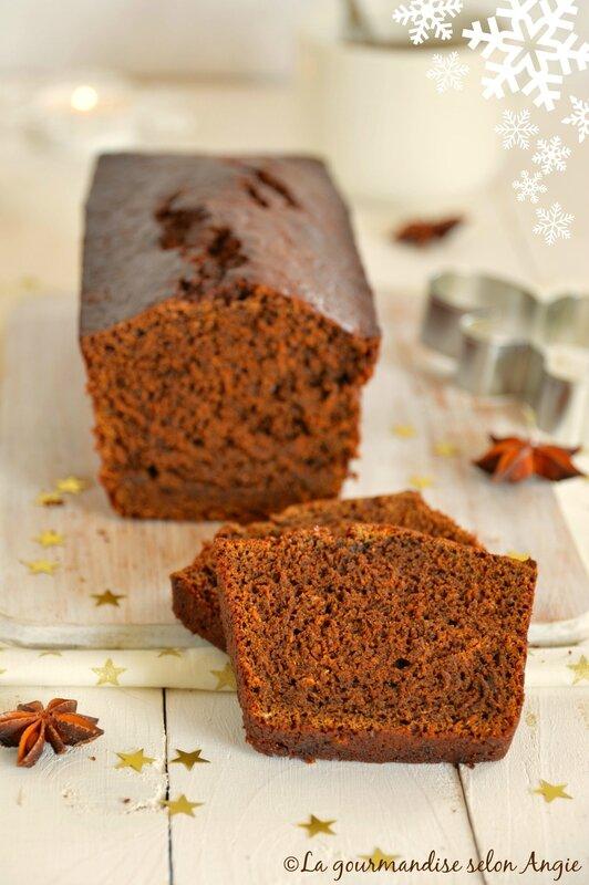 pain dépices vegan au chocolat et mélasse 3