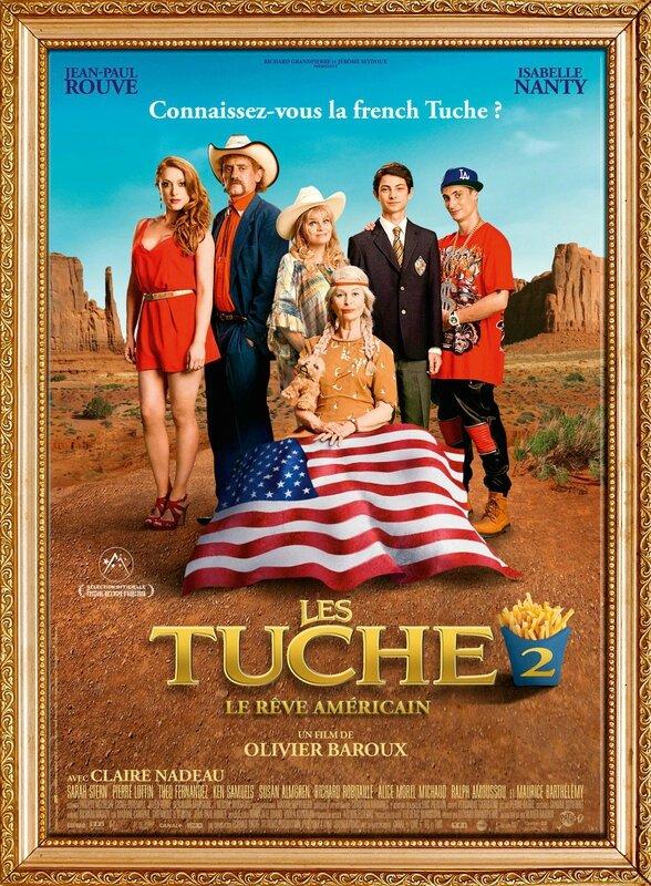Affiche Les TUCHE 2 - Le Rêve Américain