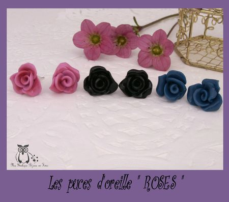 PUCES ROSES