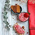 Beurre de fraises basilic-speculos {recette} #vegan #sanslactose #aplv