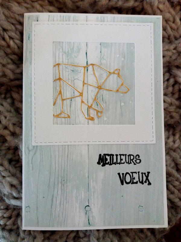 Carte_voeux_distress_die_ours_simply_graphic_papier_Les_ateliers_de_karine