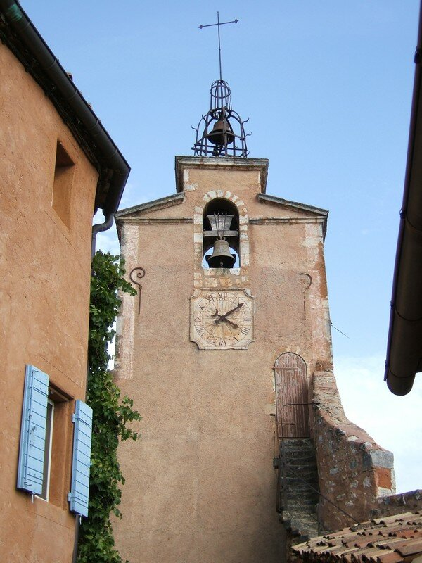 Roussillon - Village - Clocher