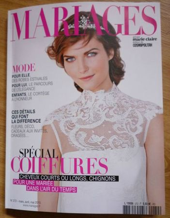 MARIAGES - MARS, AVRIL, MAI 2013