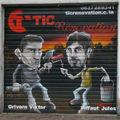 Peinture murale publicité rénovation immobilière besançon doubs