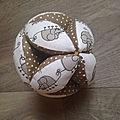Balle montessori pour un petit gaspard
