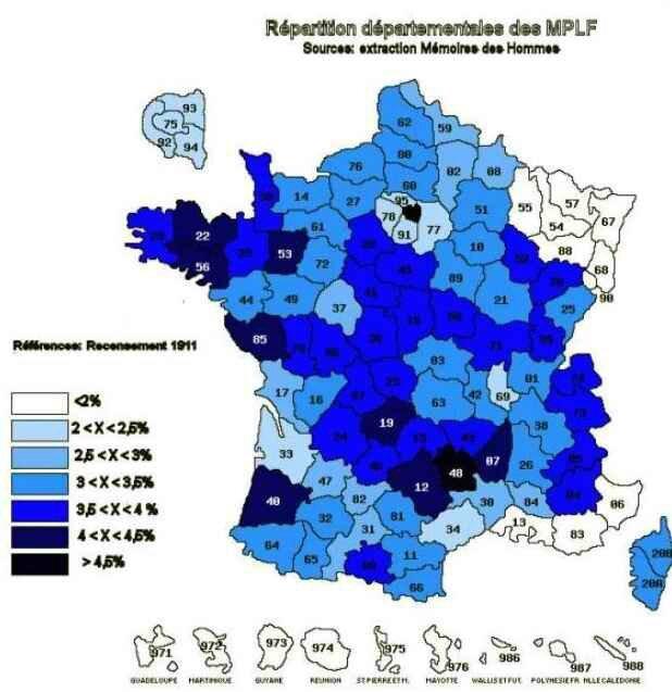 MPF morts pour la fr