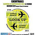 Marche mondiale contre les chemtrails et la géo-ingénierie en bretagne, 2ème édition