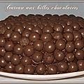 Gâteau chocolaté aux maltésers