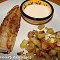 Keftas à la menthe, pommes de terre façon tajine et sauce