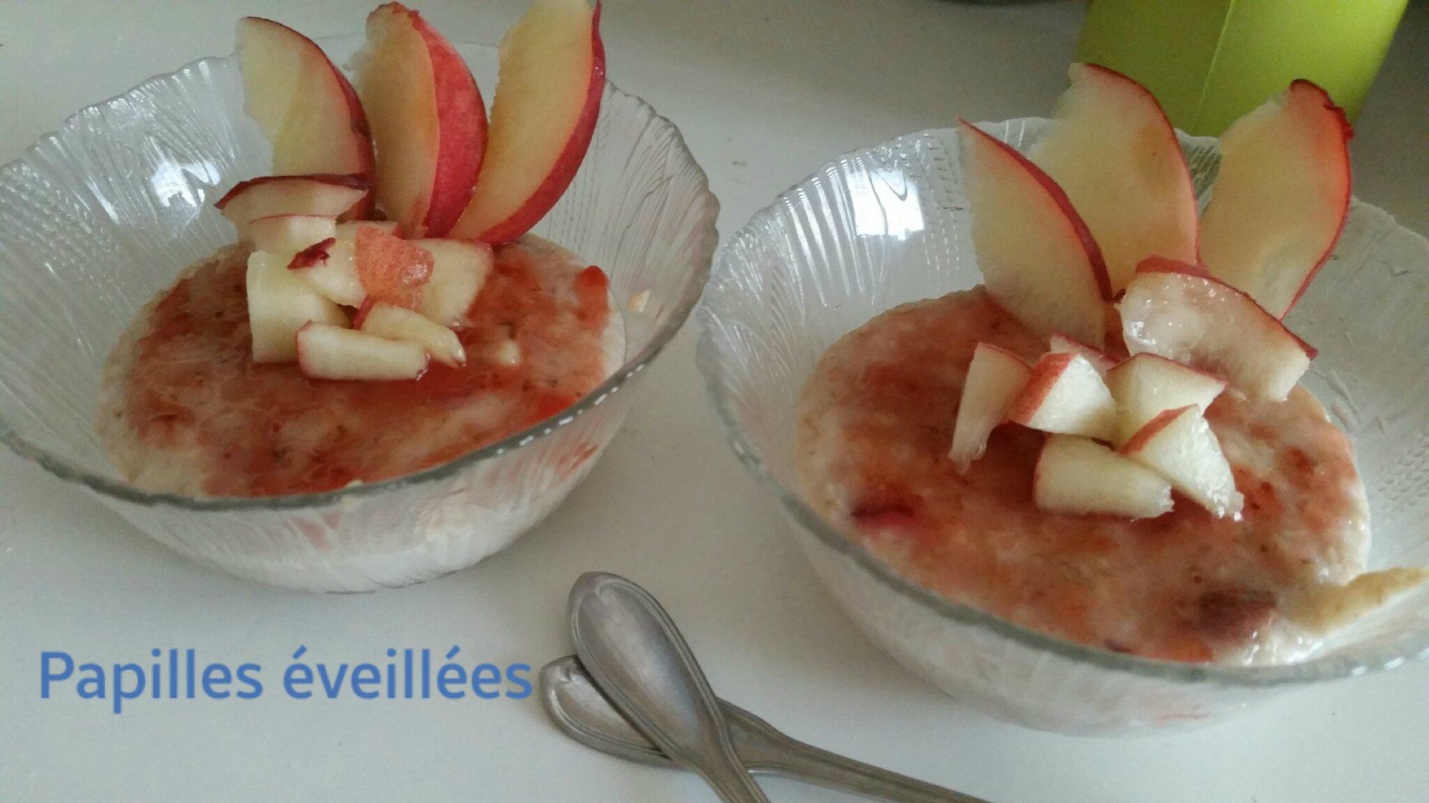 Porridge fruité