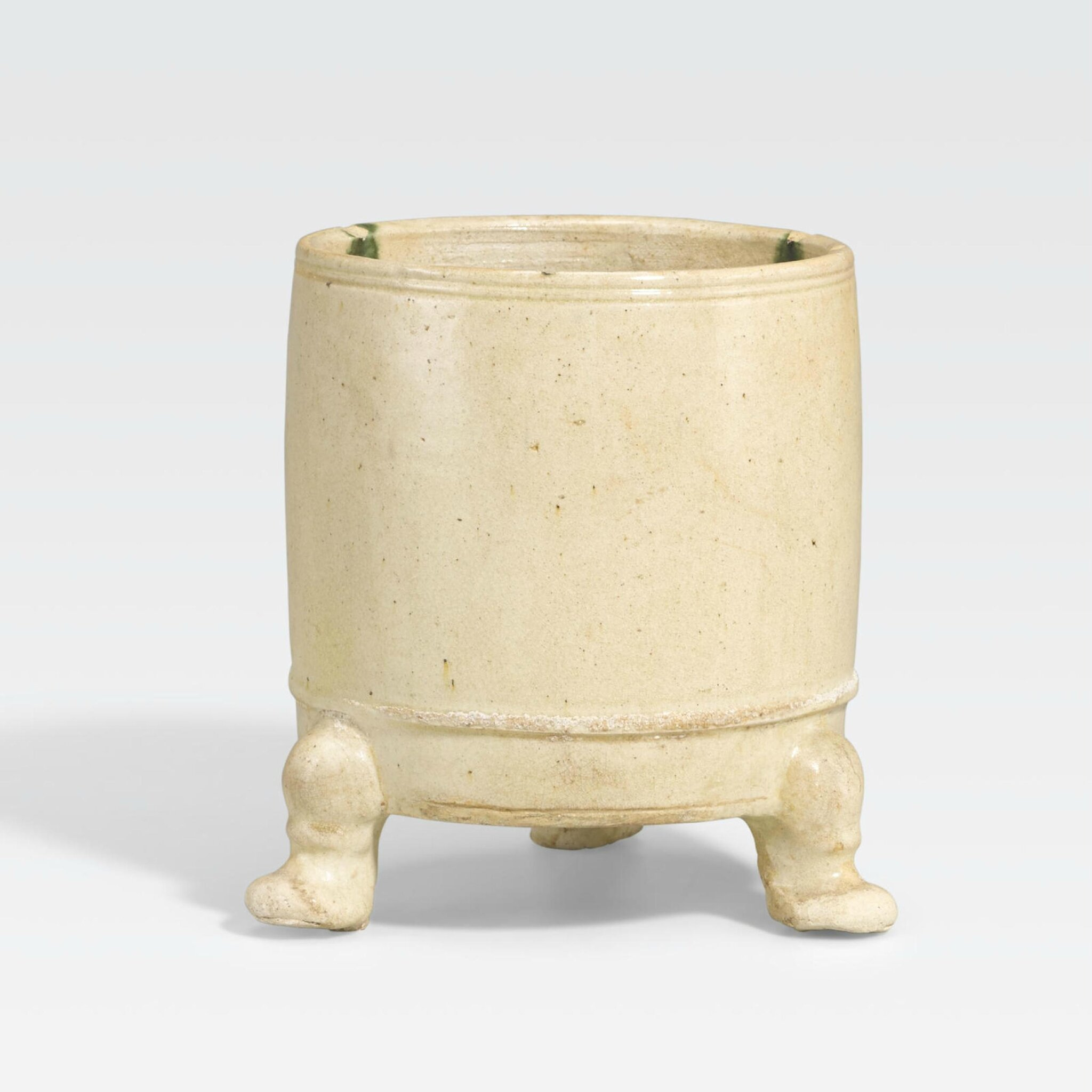 A glazed pottery censer, Tang dynasty