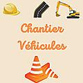 Lectures thématiques : le chantier / les véhicules (- de 5 ans)