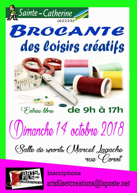 brocante arts fils 2018