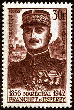1956 timbre 30f