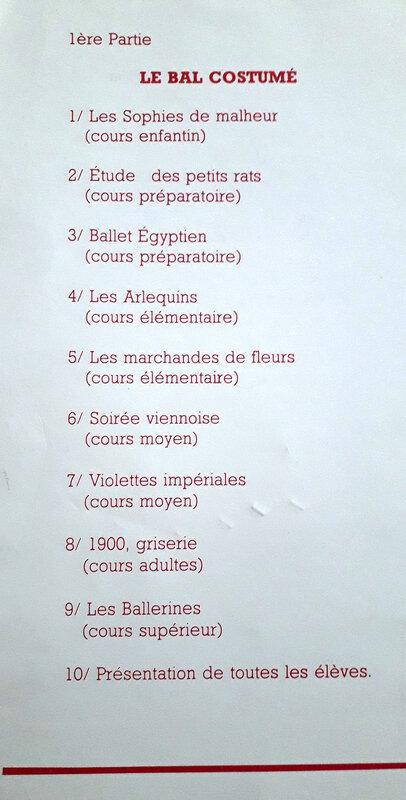 danse programme 3