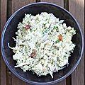 Salade de boulgour au fromage blanc et cumin